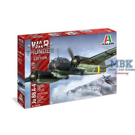 War Thunder Junkers Ju-88  1/72