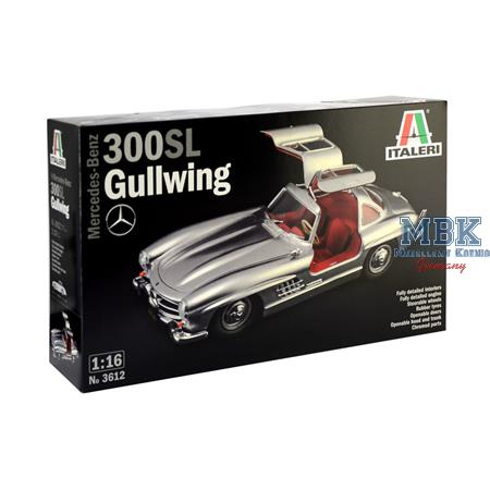 Mercedes Benz 300 SL Gullwing 1/16