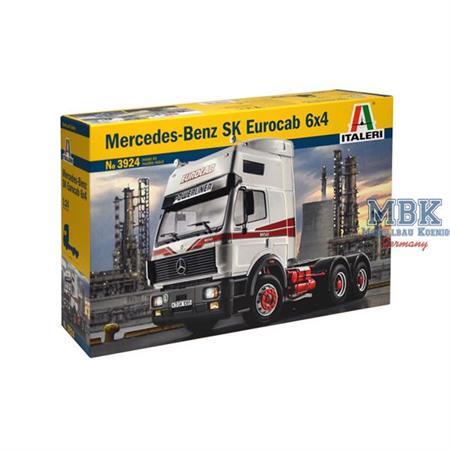 Mercedes Benz SK Eurocab 6x4    1:24
