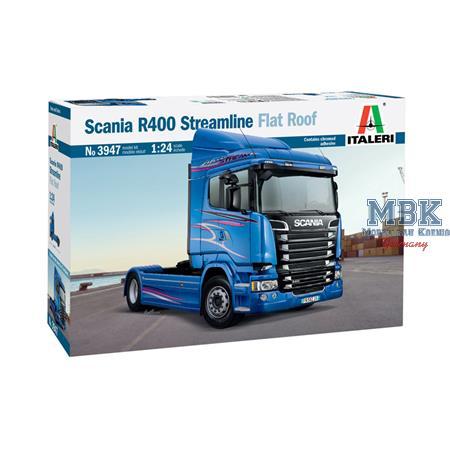 Scania R400 Streamline Flat Roof    1/24