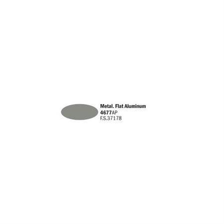 Flat aluminium metal (FS 37178)