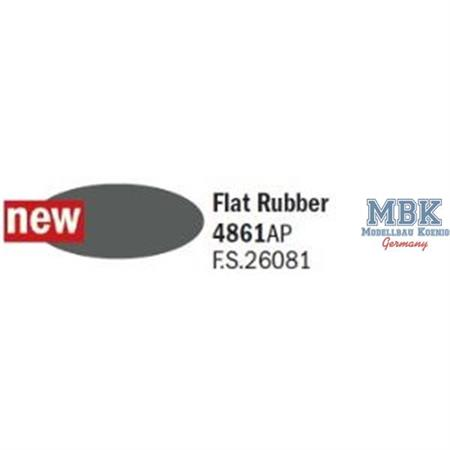 Flat Rubber - Gummischwarz F.S. 26081