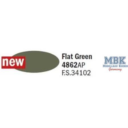 Flat Green -  Matt Grün F.S. 34102