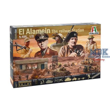 EL ALAMEIN WAR - BATTLESET