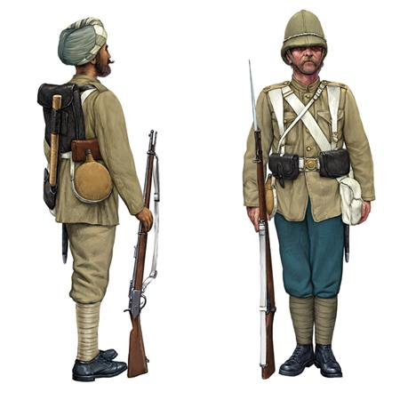 British Infantry and Sepoys 1/72