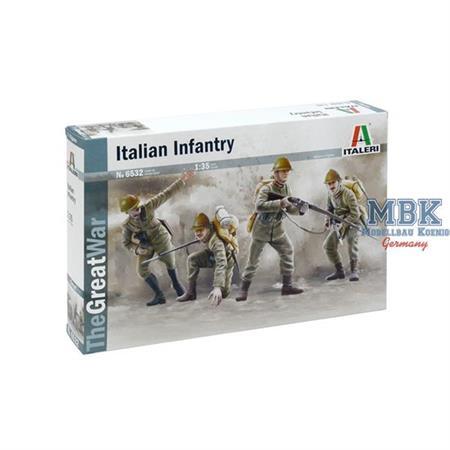 WWI Italian Infantry 1915