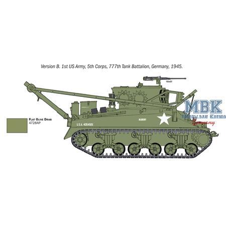 M32B1 Recovery Vehicle