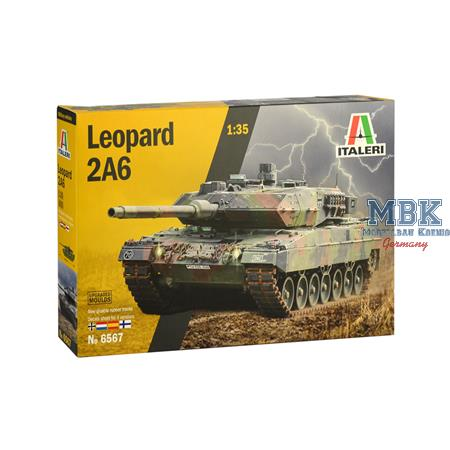 Leopard 2A6  Upgrated Molds   1/35