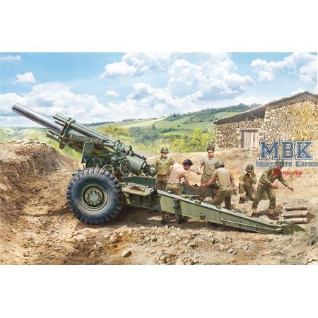 M1 155mm Howitzer inkl. Crew
