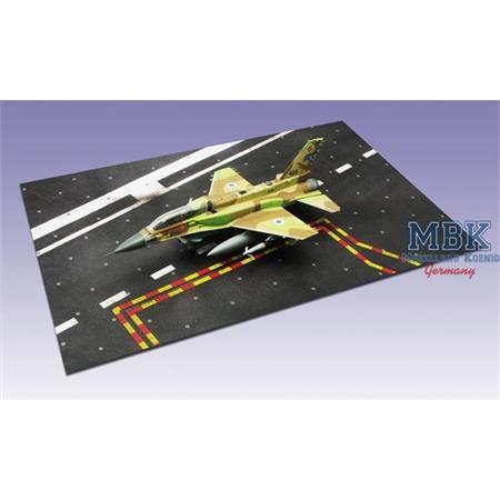 Landebahn Typ 2, Paper Platform 2, 358 x 238mm