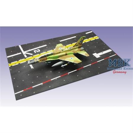 Landebahn Typ 3, Paper Platform 3, 358 x 238 mm
