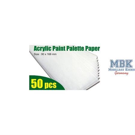 Acrylic Paint Palette Paper 50x