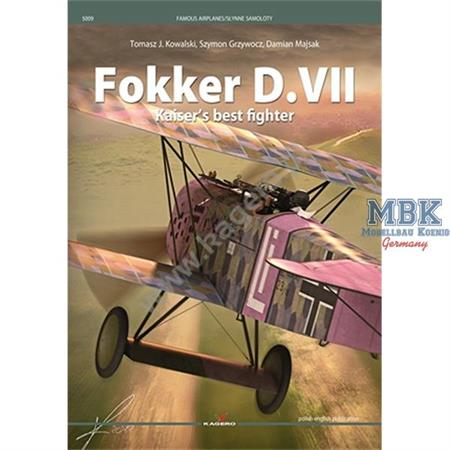 Kagero famous Airplanes Fokker D.VII Kaiser´s best