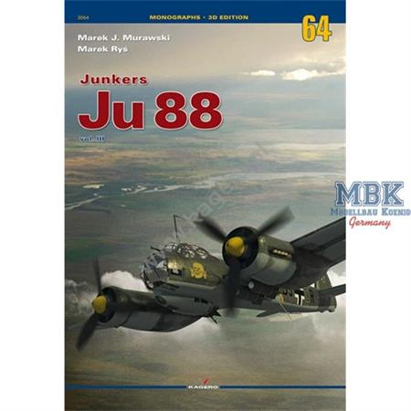 Monographs No. 64 Junkers Ju88 Volume III