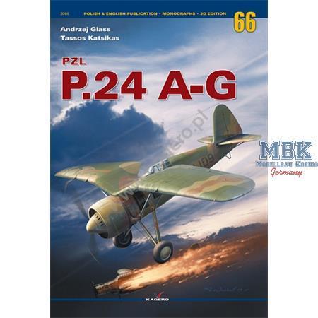 Monographs No. 66 PZL P.24 A-G