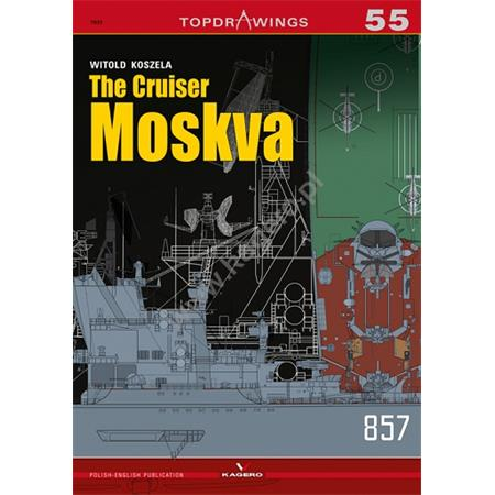 Kagero Top Drawings 55 The Cruiser Moskva