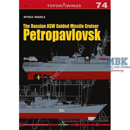 Kagero Top Drawings 74 Petropavlovsk  Russian ASW