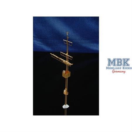 1/200 Bismarck Mast Detail Parts