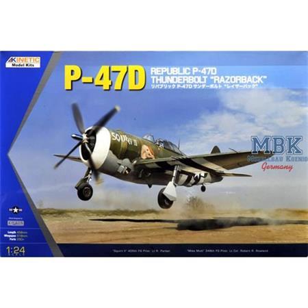 Republic P-47D Thunderbolt Razorback