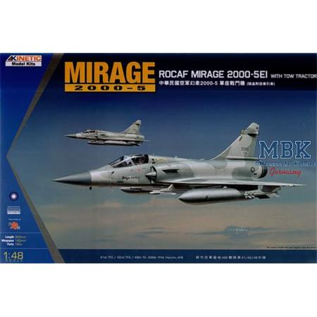 Mirage 2000C ROCAF w/ Tractor