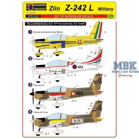 Zlin Z-242 L - Military