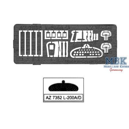Let L-200A/L-200D etched parts