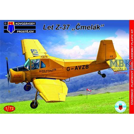 """Let Z-37 """"Cmelák"""""""