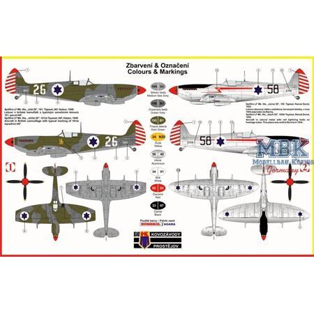 Supermarine Spitfire Mk.IXe Israeli Air Force