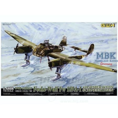 Focke-Wulf FW-189A-1 w/ Schneekufen