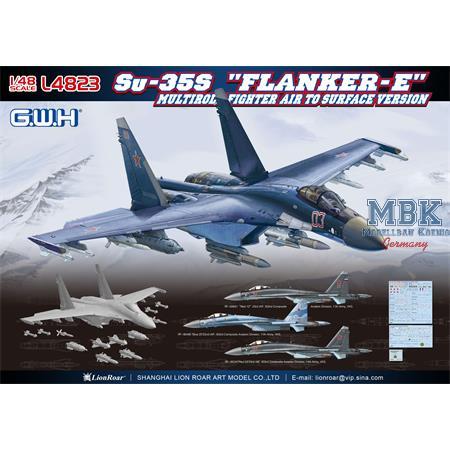 """Sukhoi Su-35S """"Flanker E""""  Multi-role Fighter"""