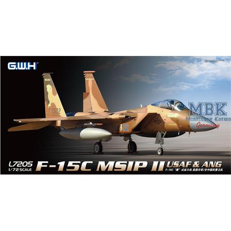McDonnell F-15C MSIP II USAF & ANG