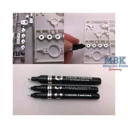 Liquid Chrome Marker 1mm