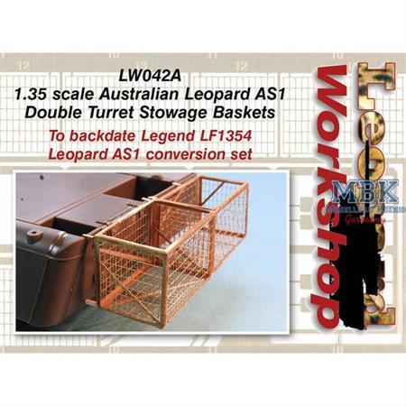 Austral. Leopard AS1 Double Turret Stowage Basket