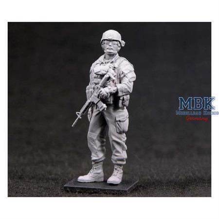 Sgt. Rob (18 Bravo) in Iraq