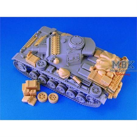 Panzer III Stowage Set
