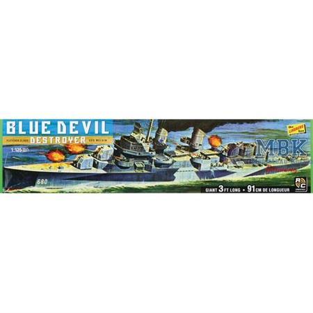 USS Melvin (Blue Devil Destroyer Fletchter 1:125)
