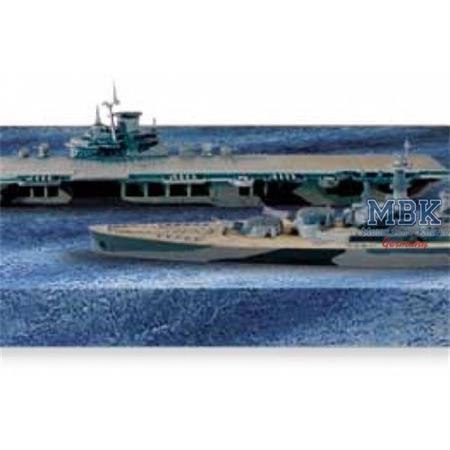 USS Intrepid & USS North Carolina (Tabletop Navy)