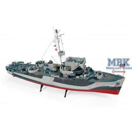 USS Hazard U.S. Navy Minesweeper / Minensucher