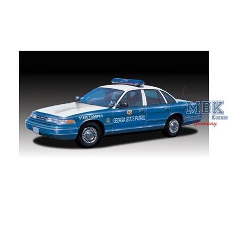Ford Crown Victoria Georgia Police Car