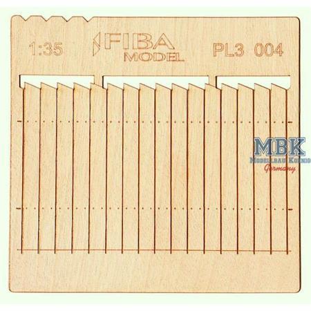 Holzzaun / Wooden fence Type 4    1/35