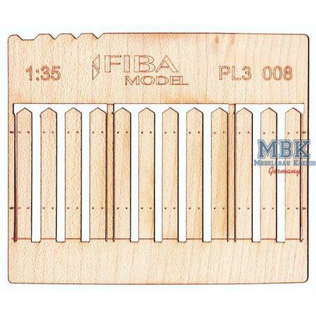 Holzzaun / Wooden fence Type 8   1/35