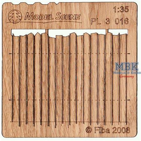 Holzzaun / Wooden fence Type 16   1/35