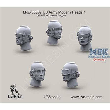 US Army Modern Heads w/ ESS Crossbow Goggles