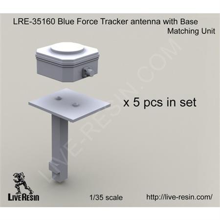 Blue Force Tracker antenna w/ base
