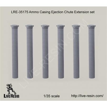 Ammo casing ejection chute extension