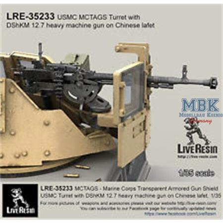 MCTAGS Turret with DShKM 12.7 heavy MG chinese laf
