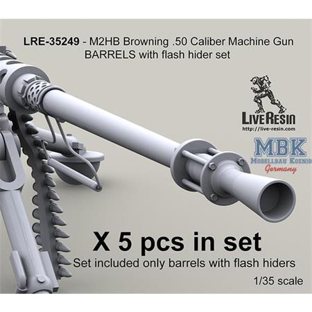 M2HB Browning .50 Caliber w/ flash hider
