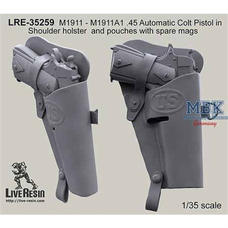 M1911A1 .45 Automatic Colt Pistol Shoulder holster