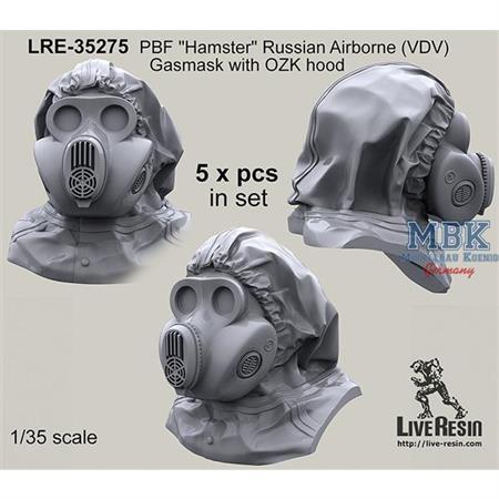 PBF Hamster Russian Airborne (VDV) Gasmask w/ hood