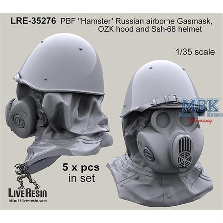 PBF Hamster Russian Airborne (VDV) w/Ssh-68 helmet